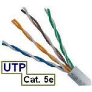 Cable UTP Cat5E Exterior Interior Gris AIR802 CMRXO 100% Cobre unifilar