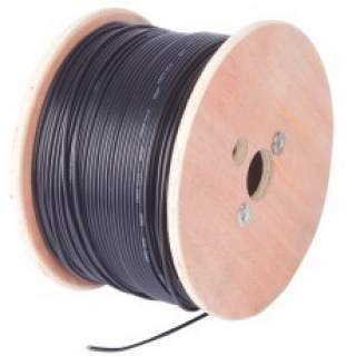 Cable Coaxial LMR195 Carrete 305MT GTL Connectivity Unifilar Cobre Negro