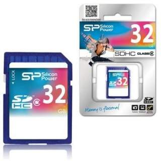 Memoria SD 32GB CLASS 6 SDHC  Silicon Power